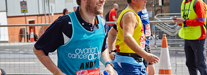 Andy Grieff-Liggins London Marathon 2017