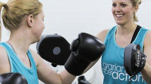 Ovarian Cancer Action running vests