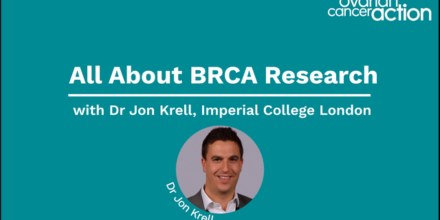 BRCA Research With Dr Jon Krell
