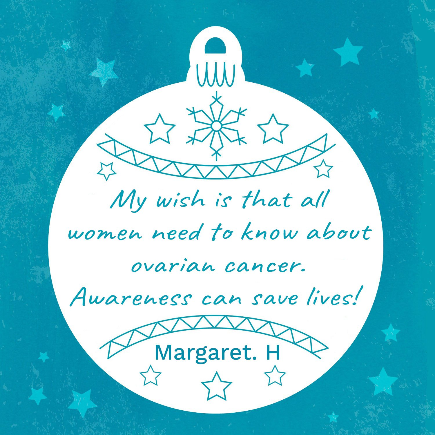 Margaret's wish for raising awareness of ovarian cancer.jpg