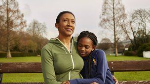 Ovarian Cancer Action Mum and Daughter on bench.jpg