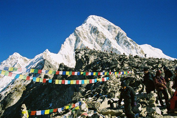Everest Base Camp, March 2018