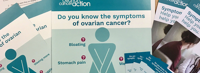 Raise awareness of ovarian cancer