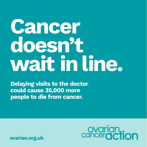 Cancer doesn't wait in line