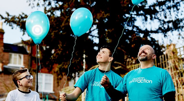Ovarian Cancer Action tshirts